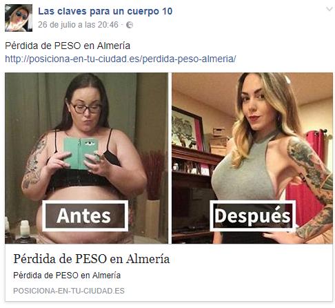Pérdida de PESO en Almería